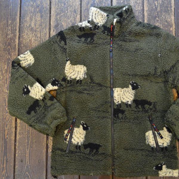『10月20日ごろ再入荷予定です。』 ファーフィールド オリジナル FARFIELD ORIGINAL フェルジャケット FELL JACKET OLIVE SHEEP
