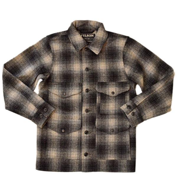フィルソン 【FILSON】 マッキーノウールジャケット MACKINAW WOOL JACKET 11010043 GRAY/CHARCOAL OMBRE