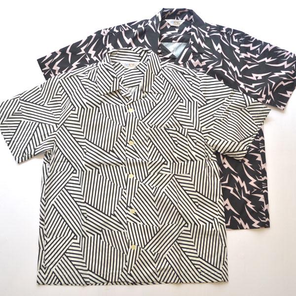 ファイブブラザー FIVE BROTHER プリント オープンカラー 半袖シャツ PRINT OPEN S/S SHIRT 152031