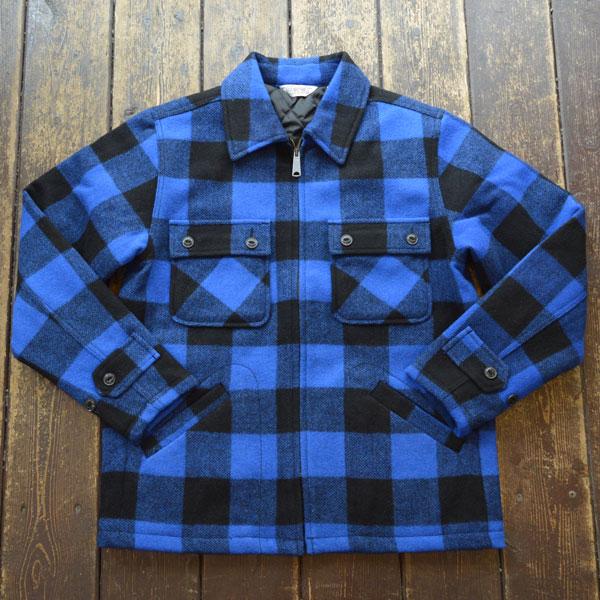 ファイブブラザー FIVE BROTHER オーセンティック シーピーオージャケット Authentic C.P.O. Jacket 150801 BLUE BLOCK