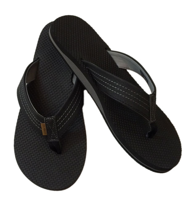 フリーウォーターズ 【FREE WATERS】 ZAC BEACH SANDALS BLACK
