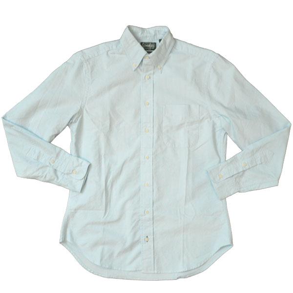 ギットマン ヴィンテージ 【GITMAN VINTAGE】 オックスフォードボタンダウンシャツ OXFORD B.D.SHIRT BLUE