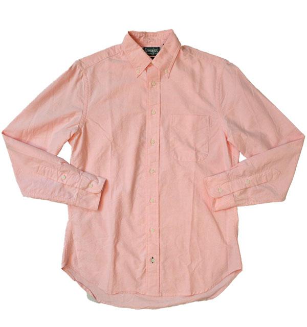 ギットマン ヴィンテージ 【GITMAN VINTAGE】 オックスフォードボタンダウンシャツ OXFORD B.D.SHIRT PINK