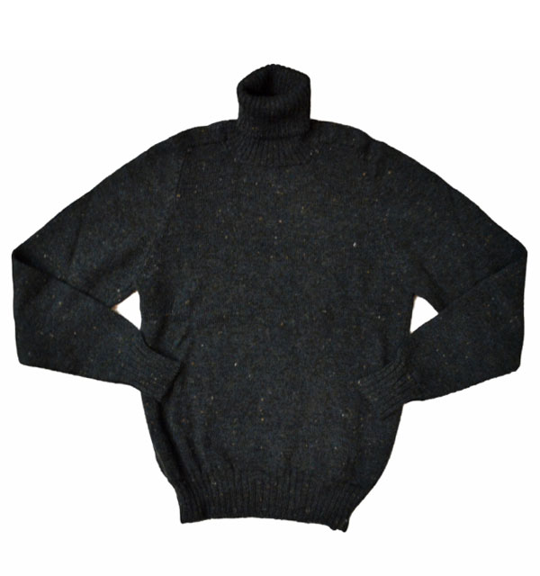 グレンゲア 【GLENGAIR】 タートルネックセーター TURTLENECK SWEATER SHERWOOD TWEED