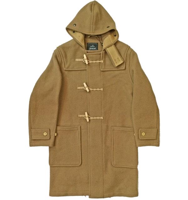 グローバーオール 【GLOVERALL】 MONTY 585/52  DUFFLE COAT BEIGE