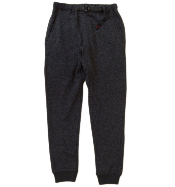 グラミチ 【GRAMICCI】 GRAMICCI FLEECE NARROW RIB PANTS CHARCOAL