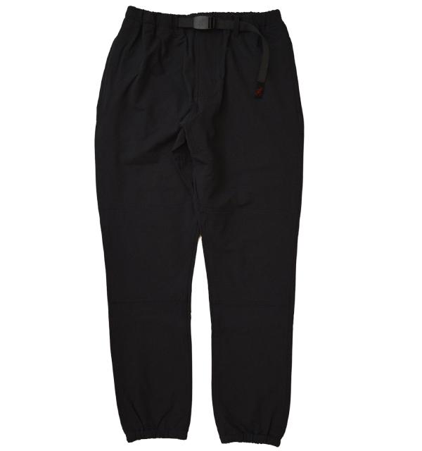 グラミチ 【GRAMICCI】 4WAY ST TRACK PANTS ストレッチトラックパンツ BLACK