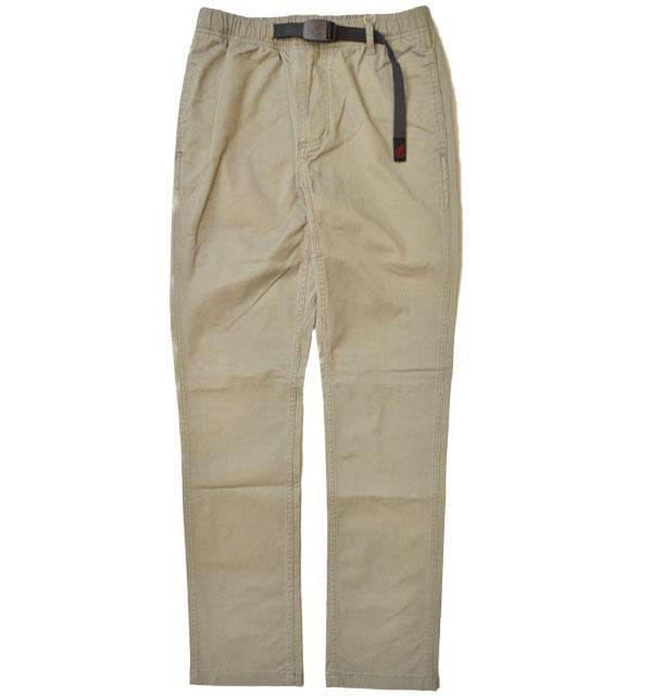 グラミチ GRAMICCI ニューナローパンツ NN-PANTS 0816-FDJ KHAKI GREY