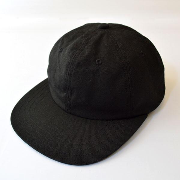 ハッピーキャンパー HAPPY CAMPER コットンダック 6パネル キャップ DUCK 6PANEL CAP BLACK