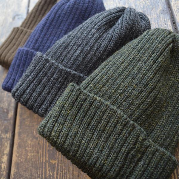 ハイランド2000 HIGHLAND2000 ブリティッシュウール ニットキャップ 2 x 1 British Wool Watchcap 4COLOR