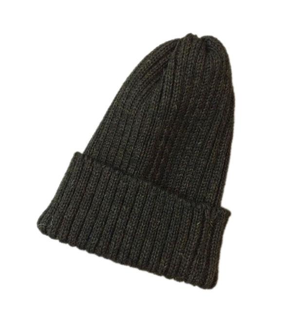 ハイランド2000 【HIGHLAND2000】 2 x 1 British Wool Watchcap ニットキャップ LODEN