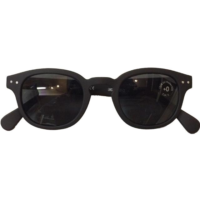 イジピジ 【IZIPIZI】 SUN サングラス ボスリントン型 #C BLACK SOFT