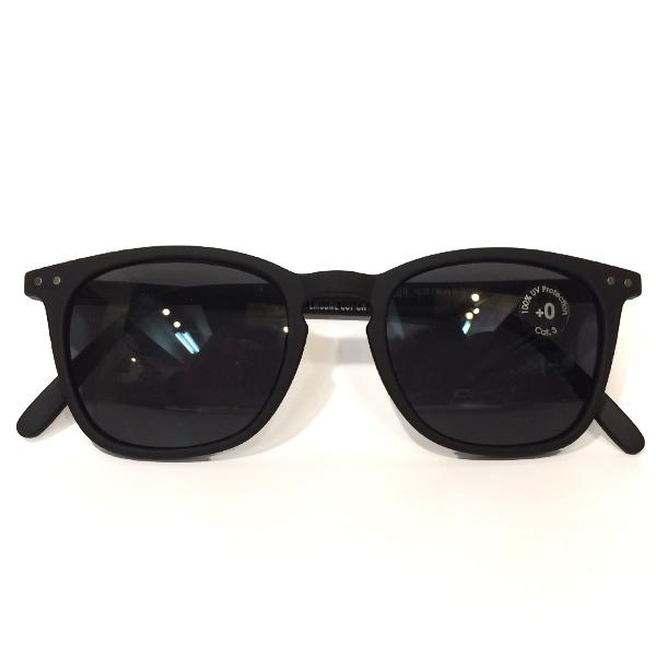 イジピジ 【IZIPIZI】 SUN サングラス ウェリントン型 #E BLACK SOFT