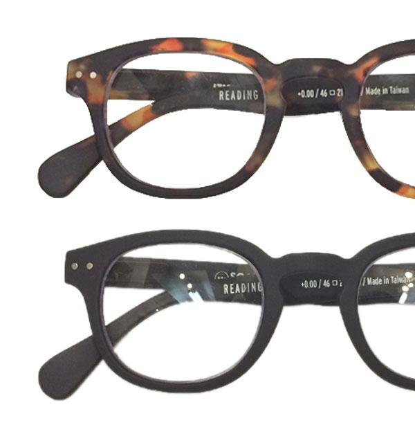 イジピジ 【IZIPIZI】 リーディンググラス 眼鏡 ±0 ボスリントン型 #C 2COLOR