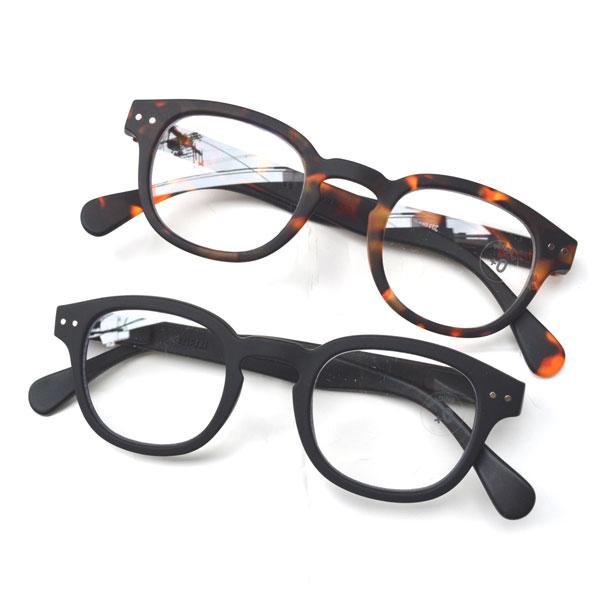 イジピジ IZIPIZI リーディンググラス 眼鏡 ±0 ボスリントン型 #C 2COLOR