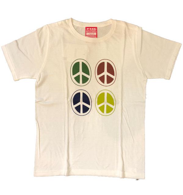 ジョーコック 【JOE COK】 プリントTシャツ PEACE