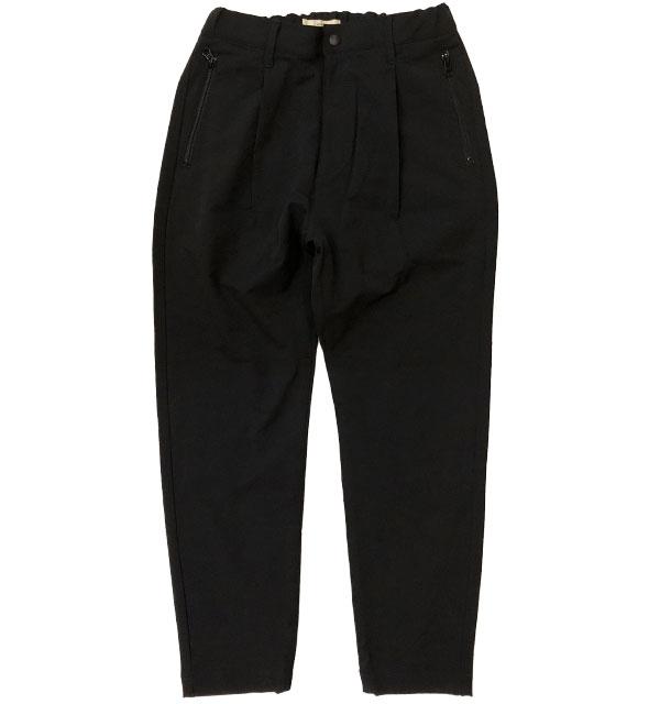 カフィカ 【Kafika】 ダブルクロス ラウンジパンツ DOUBLE CLOTH LOUNGE PANTS BLACK