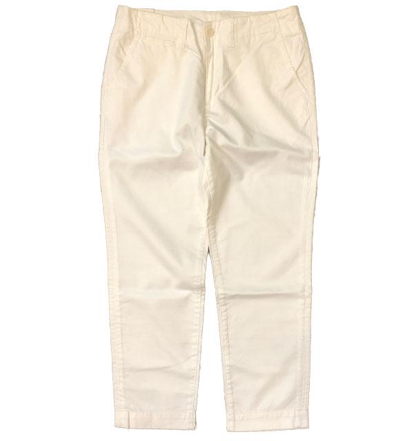 キッフェ 【KIFFE】 コットンチノパンツ COTTON CHINO PANTS WHITE