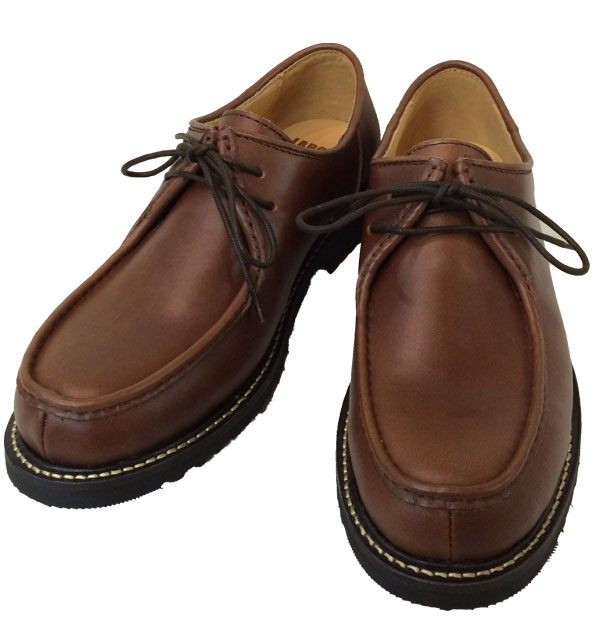 レイバラーシューズ 【LABORER SHOES】 TIROLEAN SHOES  BROWN