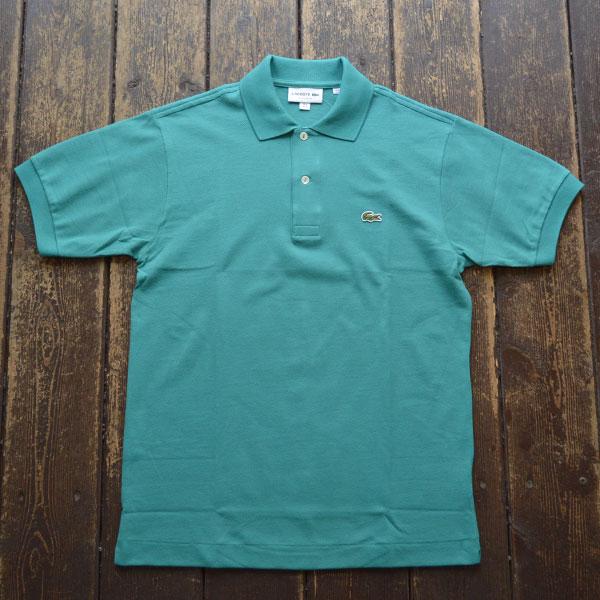 ラコステ LACOSTE フレンチラコ ポロシャツ L1212 TURQUISE BLUE