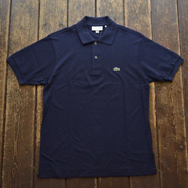 ラコステ LACOSTE フレンチラコ ポロシャツ L1212 NAVY