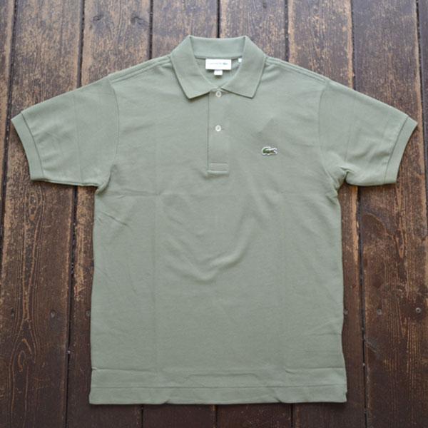 ラコステ LACOSTE フレンチラコ ポロシャツ L1212 OLIVE