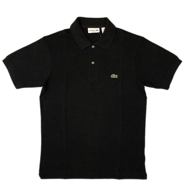 ラコステ 【LACOSTE】 フレンチラコ ポロシャツ L1212 BLACK