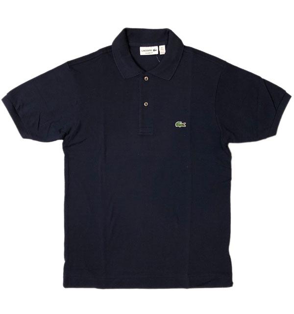 ラコステ 【LACOSTE】 フレンチラコ ポロシャツ L1212 NAVY
