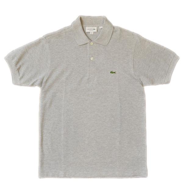 ラコステ LACOSTE フレンチラコ ポロシャツ L1264 GRAY