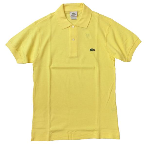 ラコステ 【LACOSTE】  半袖ポロシャツ L1212 YELLOW