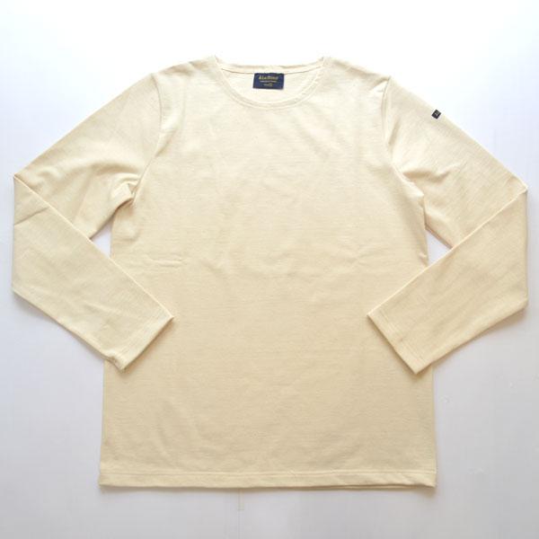 ルミノア Le minor 無地 バスクシャツ 810 SOLID NATURAL