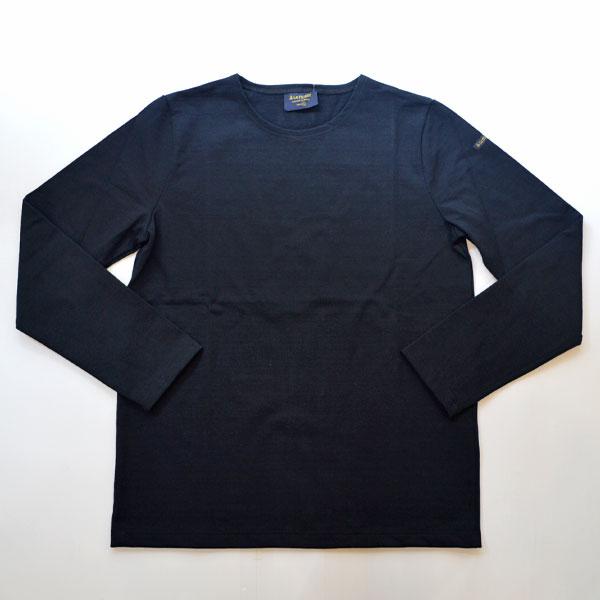 ルミノア Le minor 無地 バスクシャツ 810 SOLID DARK NAVY