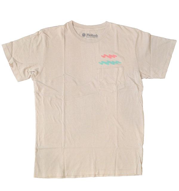 モラスク 【MOLLUSK】 プリントTシャツ ZIGGY ZAGGY TEE MADE IN USA