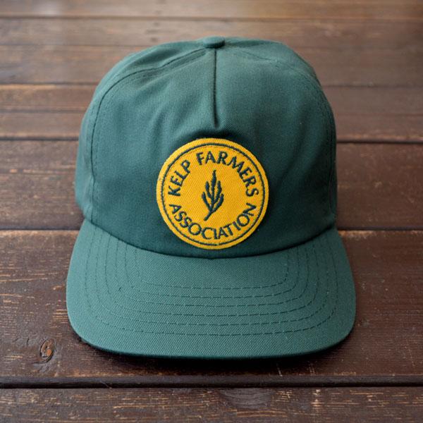 モラスク MOLLUSK 5P KELP FARMERS PATCH CAP GREEN