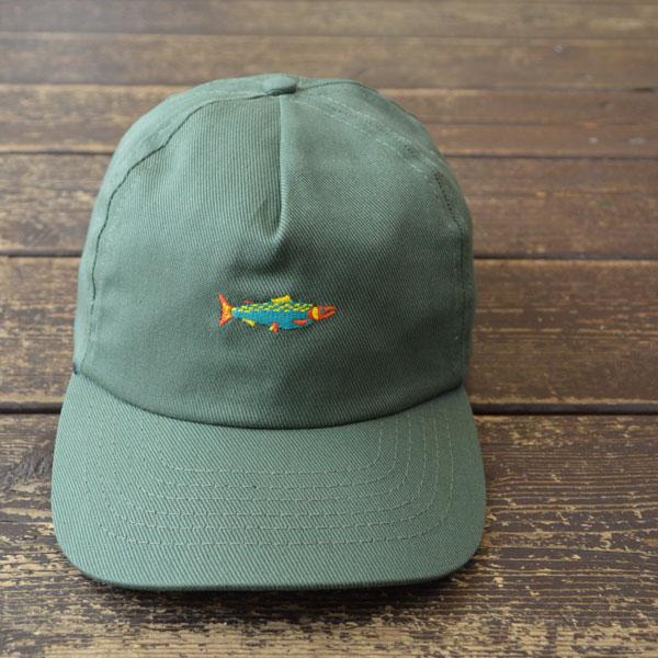 モラスク MOLLUSK 5P HOT SALMON POLO CAP