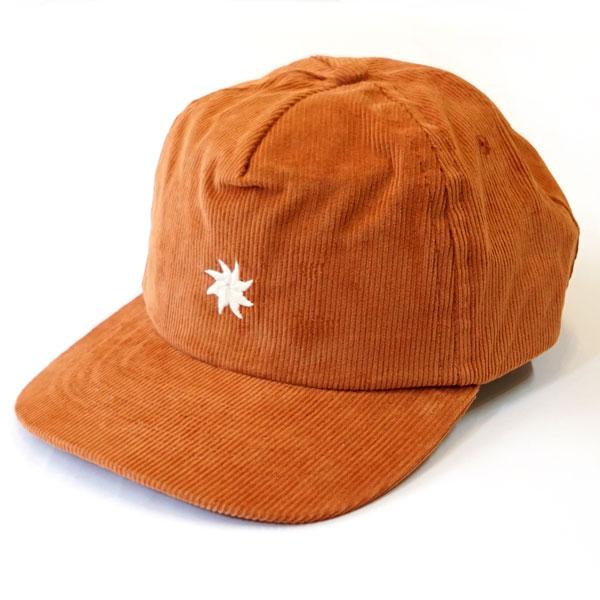 モラスク MOLLUSK コーデュロイ キャップ 5P SunsSplash Emb CAP