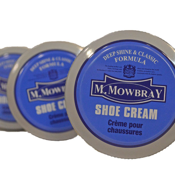 モゥブレィ M.MOWBRAY シュークリーム 乳化性タイプ SHOE CREAM 3COLOR