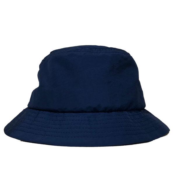 ニューイングランドキャップ 【NEW ENGLAND CAP】 ナイロンバケットハット NEC BLUE