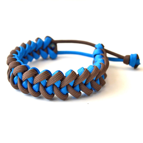 USAコード ロープブレスレット ROPE BRACELET BROWN/BLUE