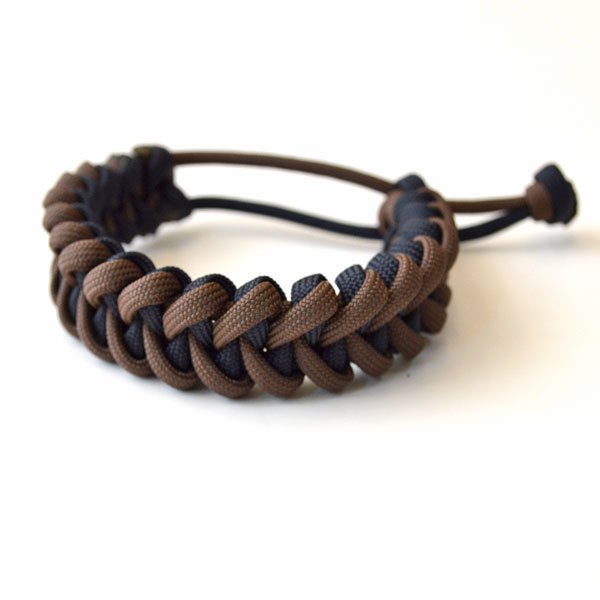 USAコード ロープブレスレット ROPE BRACELET BROWN/NAVY