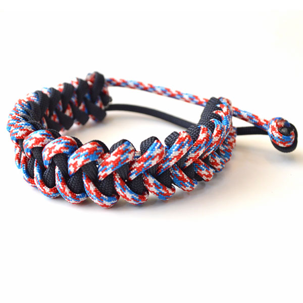 USAコード ロープブレスレット ROPE BRACELET PATRIOT/NAVY