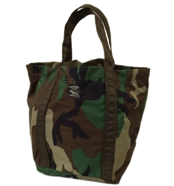 ポインターブランド 【POINTER BRAND】 TOTE BAG CAMO MADE IN USA
