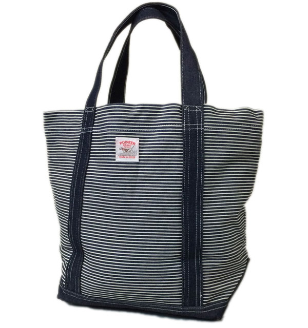 ポインターブランド 【POINTER BRAND】 TOTE BAG HICKORY×DENIM MADE IN USA