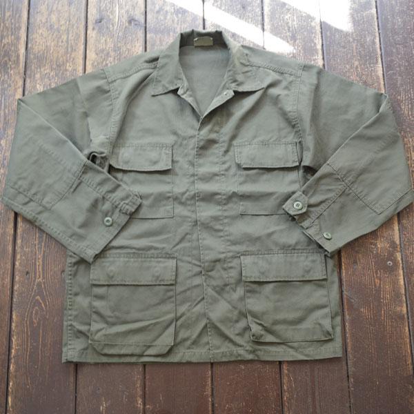 ロスコ ROTHCO コットンツイル BDUジャケット BDU JACKET OLIVE ウォッシュ加工済
