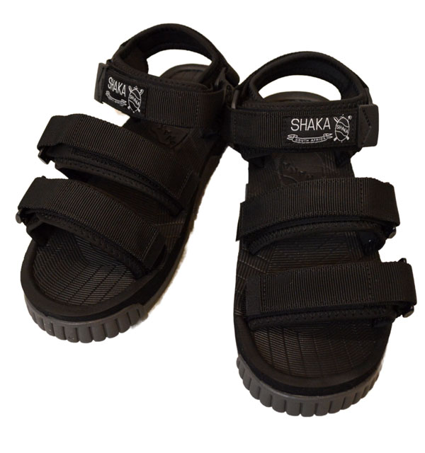 シャカ SHAKA ネオバンジー NEO BUNGY スポーツサンダル SPORTS SANDALS SK433104 BLACK/CHARCOAL SOLE