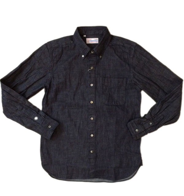 ソンタク 【SONTAKU】 DENIM BD SHIRTS 8OZデニムボタンダウンシャツ INDIGO