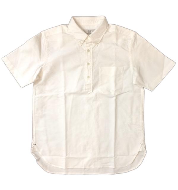 ソンタク 【SONTAKU】 OXFORD BD PULLOVER SHIRTS オックスフォードボタンダウンプルオーバーシャツ WHITE
