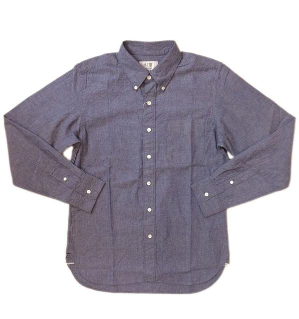ソンタク 【SONTAKU】 L/S SELVEDGE CHAMBRAY BD SHIRTS セルビッチシャンブレーボタンダウンシャツ
