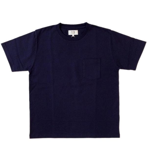 ソンタク 【SONTAKU】 ミドルウエイト S/S POCKET T-SHIRTS ポケTシャツ NAVY