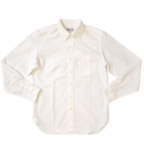 ソンタク SONTAKU 洗いざらしオックスフォードBDシャツ OXFORD BD SHIRTS HD99293 WHITE